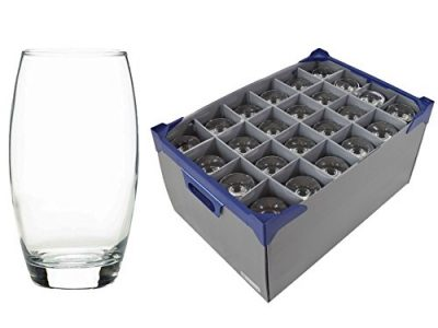 24 off Empire Tumblers / Hiball / Water Glass 51cl / 17.25oz and Glassware Storage Box