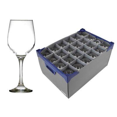 Fame Wine Glass and Glassware Box - Glassjack - 30cl / 10.5oz - 24 Pack