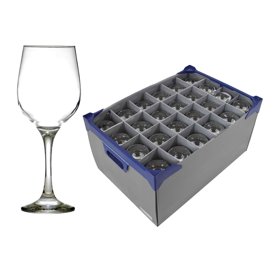 Glassware Storage Boxes with Glasses