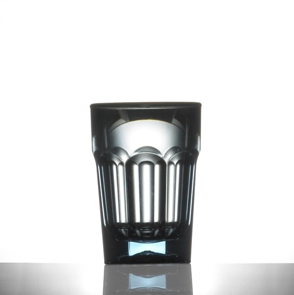 Elite Remedy Polycarbonate Neon Blue Shot Glasses, 25ml CE - 24 Pack