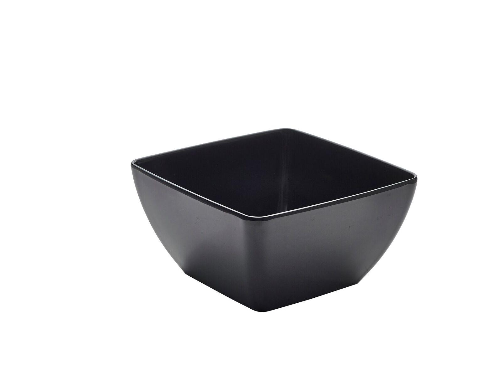 Black & White Melamine Bowls