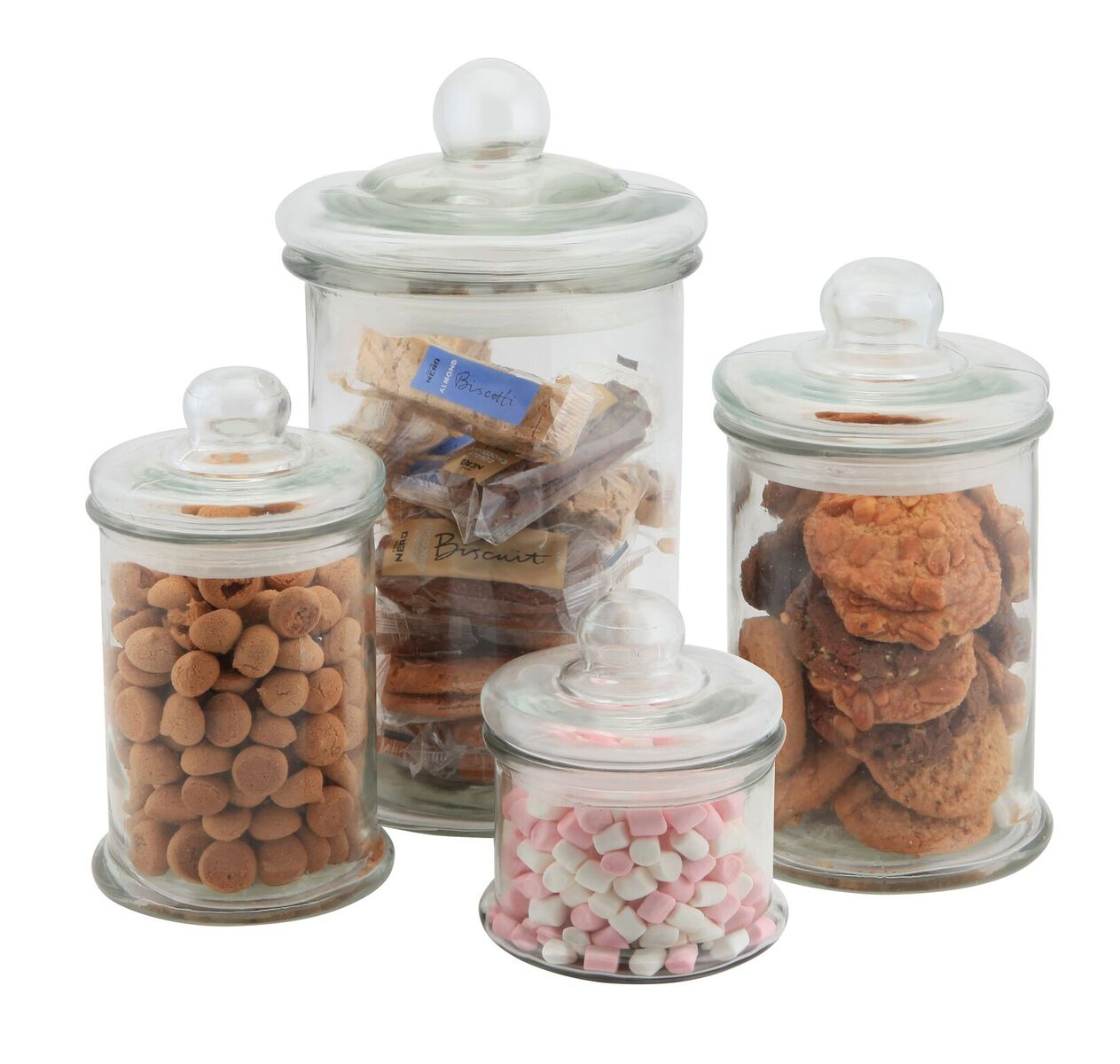 Glass Display Jars
