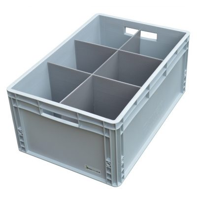 Glass Boxes Crates
