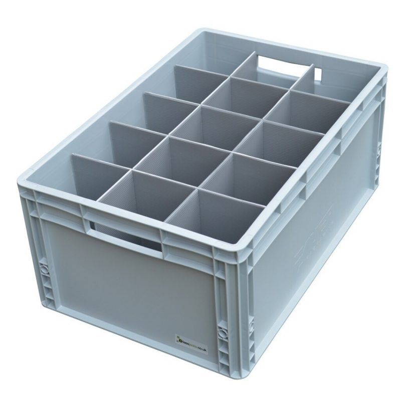 Glass Storage Box Crate