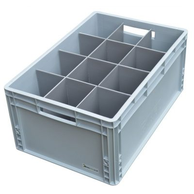 Storage Glass Crate