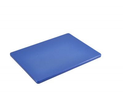 Blue Poly Cutting Board 12 x 9 x 0.5""