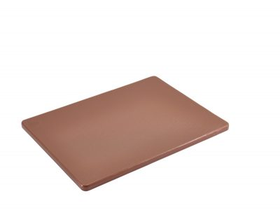 Brown Poly Cutting Board 12 x 9 x 0.5""