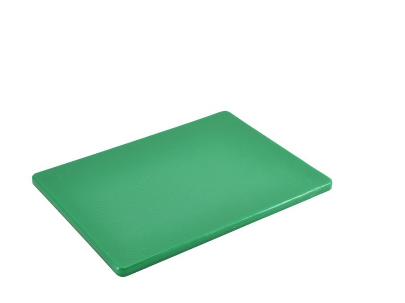 Green Poly Cutting Board 12 x 9 x 0.5""