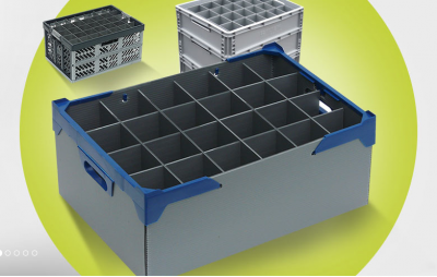 Glassware Storage Boxes & Crates