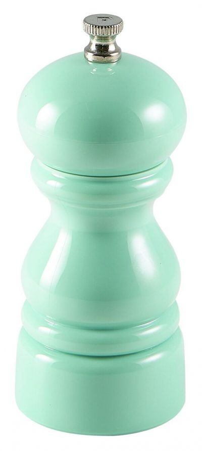 Genware Salt Or Pepper Grinder Green 12.7cm