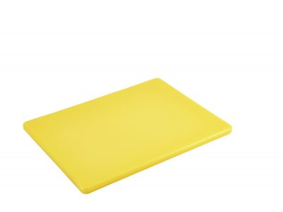 Yellow Poly Cutting Board 12 x 9 x 0.5""