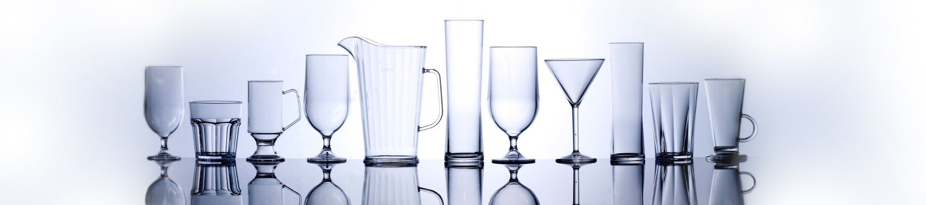 plastic polycarbonate glasses