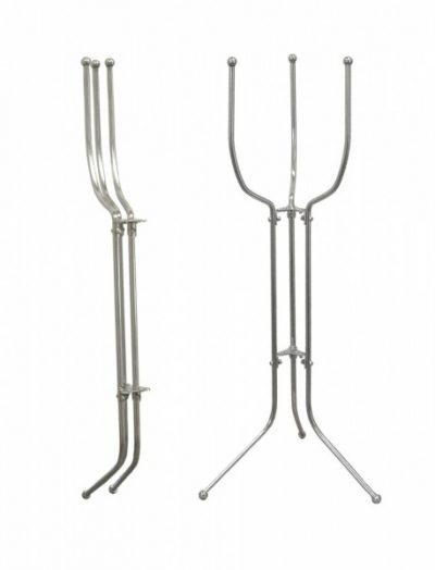 Beaumont Stainless Steel Folding Bucket Stand