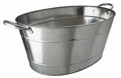 Beaumont Galvanised Steel Beverage Tub 25 litre/44 pint