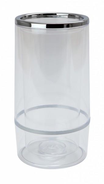 Beaumont Chrome & Plastic Wine Cooler