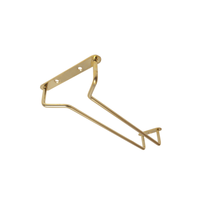 Beaumont 10″ Glass Hanger Brass