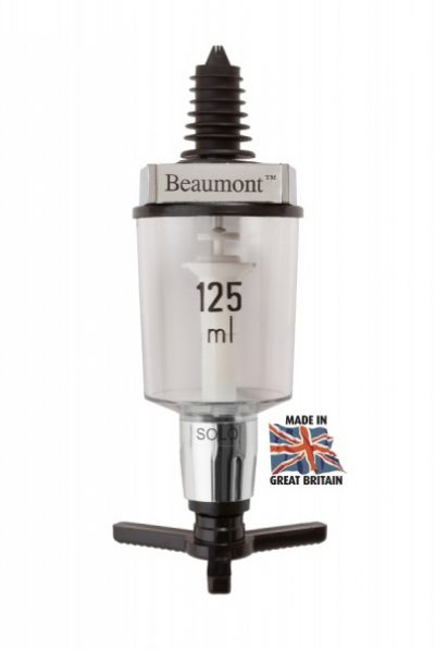 Beaumont 125ml Solo Wine Measure