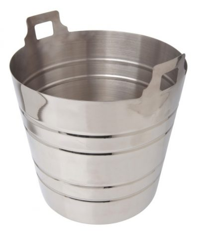 Beaumont Stainless Steel Champagne Bucket 5 Litre / 9 Pint