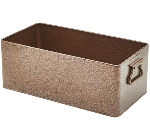 Galvanised Steel Box GN 1/3 Antique Copper