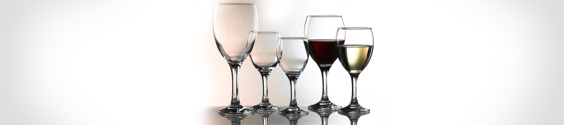 Empire Genware Wine Glasses
