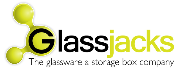 GlassJacks Storage box and Glassware