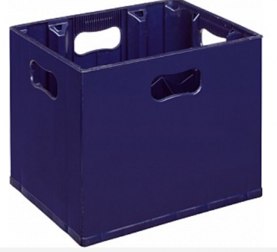 Bottle Crate - Pack, Stack, Store and Transport your 1 Litre Bottles - 1 Litre Spirit Bottles or Wine Bottles or Beer Bottles or Cider Bottles. - Perfect for Homebrew, Recycling Box, Bottle Bank, Bottle Storage, Catering.