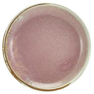 Terra Porcelain Rose Coupe Plate 19cm