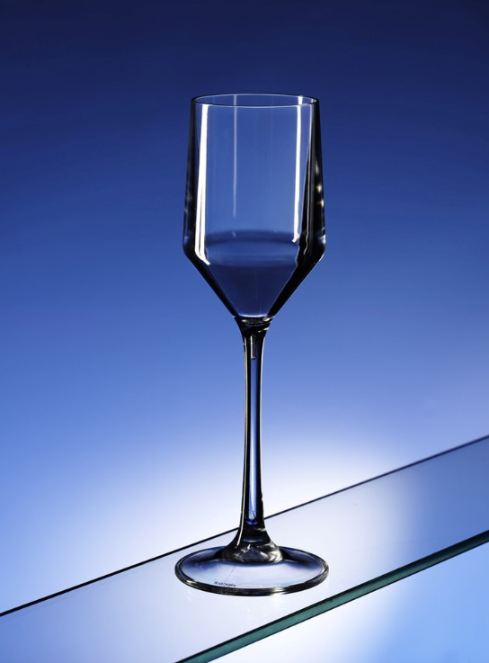 Premium Plastic Wine Glasses 450ml (16oz) - 6 Pack