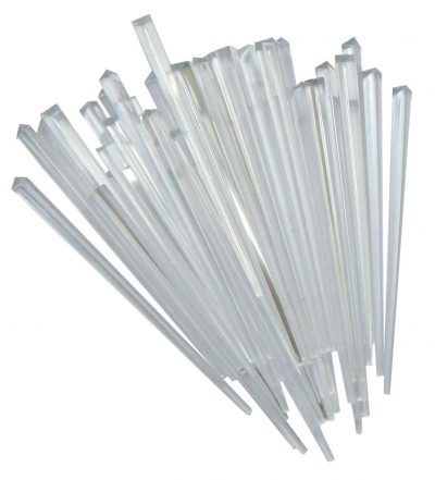 "Beaumont 3½"" Clear Prism Pick - Box of 1000"