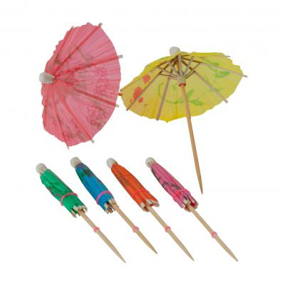 Beaumont Cocktail Parasols - Box of 144