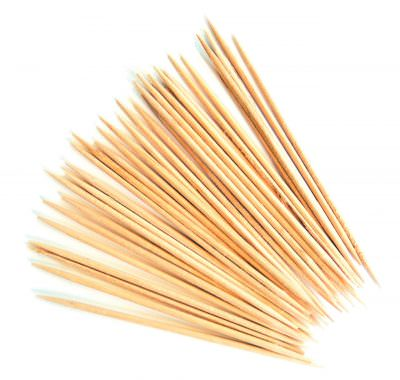 Beaumont Wooden Cocktail Sticks - 1 Box of 1000