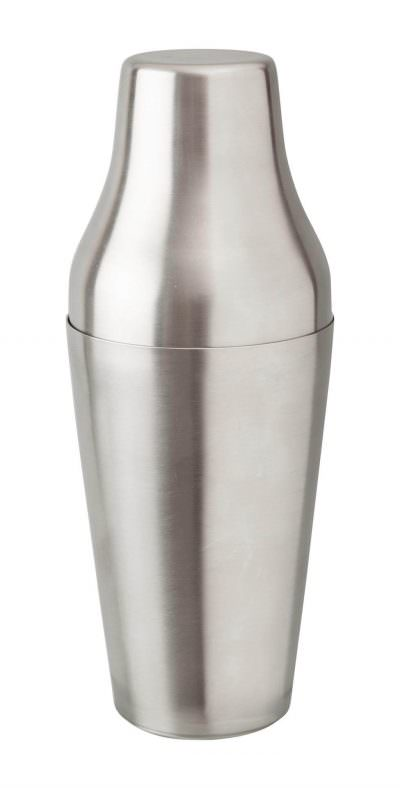 Beaumont Mezclar 600ml French Shaker Stainless Steel