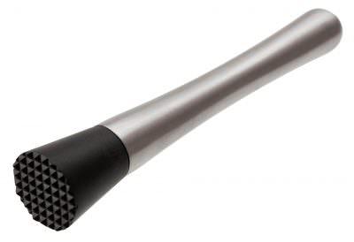 Beaumont Stainless Steel & Plastic Muddler 8 1/4″