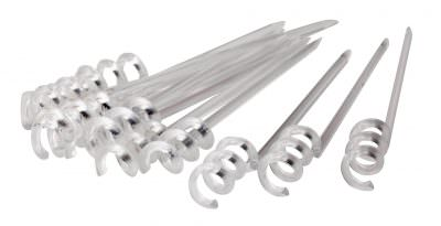 Beaumont Swirl Pick Clear 3 1/2″ - 1 Box of 1000