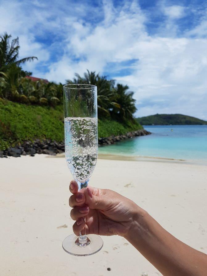 Premium Champagne Flutes - Reusable Plastic - 6 Pack