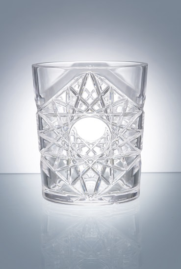 Premium Rocks 35 cl / 11,8 oz Clear - Pack of 6 - Reusable Plastic