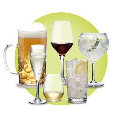 Reusable Plastic Glassware