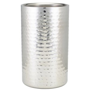 GenWare Hammered Stainless Steel Wine Cooler