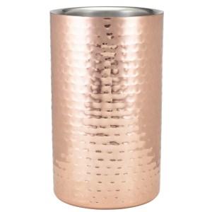 GenWare Hammered Copper Plated Wine Cooler