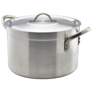 Aluminium Stewpan With Lid 20.5Litre