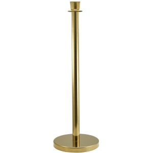 Brass Plated Barrier Post