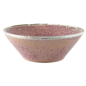 Terra Porcelain Rose Conical Bowl 14cm
