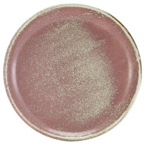 Terra Porcelain Rose Coupe Plate 24cm