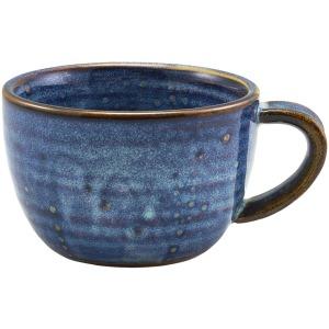 Terra Porcelain Aqua Blue Coffee Cup 28.5cl/10oz