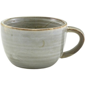 Terra Porcelain Grey Coffee Cup 28.5cl/10oz