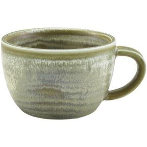 Terra Porcelain Matt Grey Coffee Cup 28.5cl/10oz