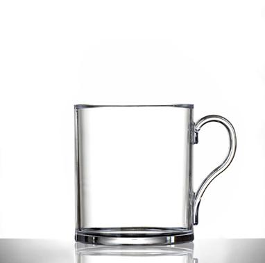Clear Mug Plastic