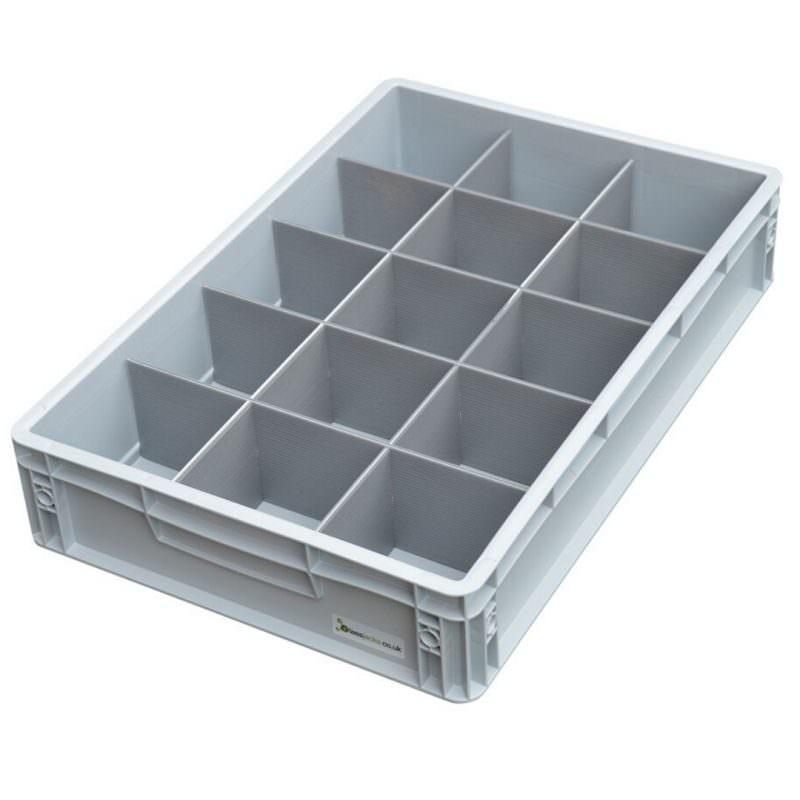 Crate Glass Storage