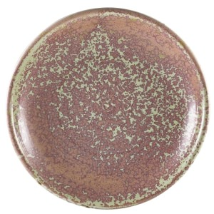 Terra Porcelain Rose Deep Coupe Plate 21cm
