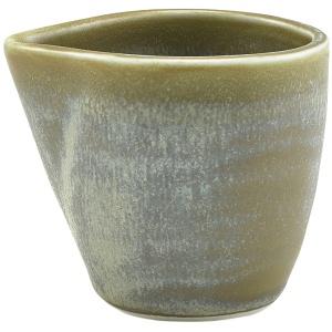 Terra Porcelain Matt Grey Jug 9cl/3oz